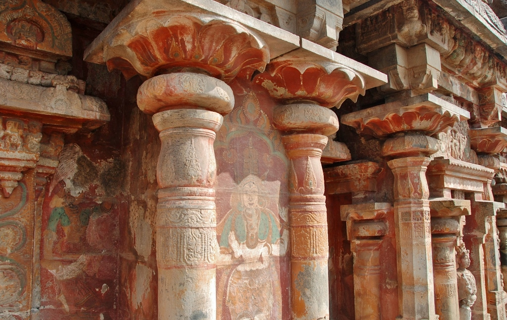 Airavateswarar Temple wallpaintings