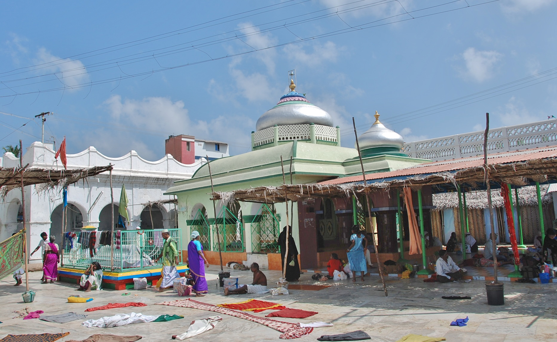 Inside the Nagore Dargah