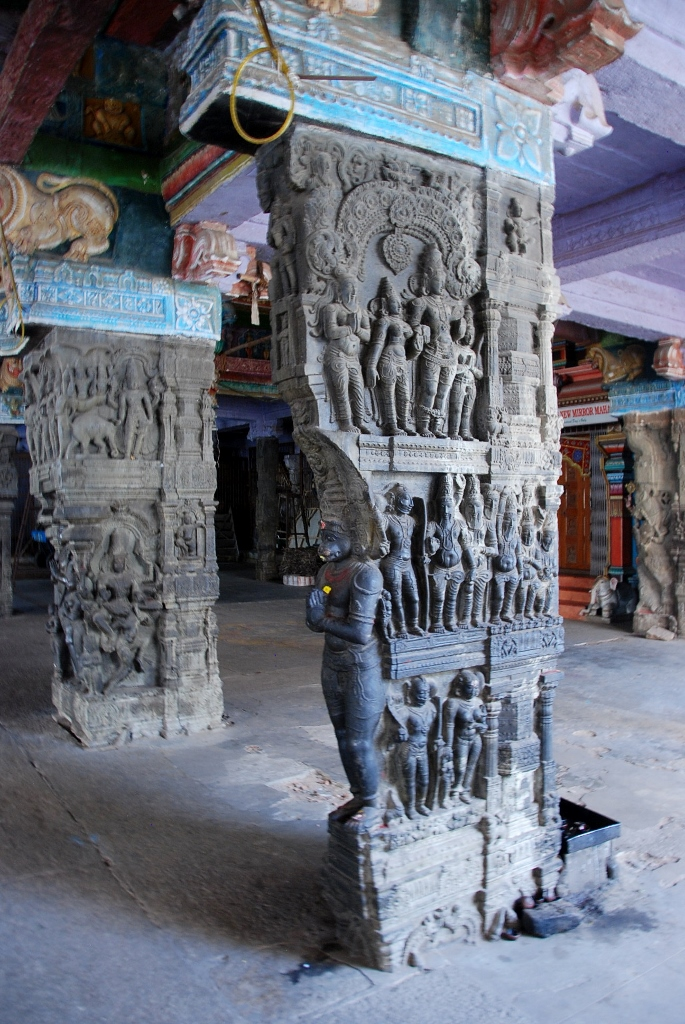 Ramaswamy Temple Carved column