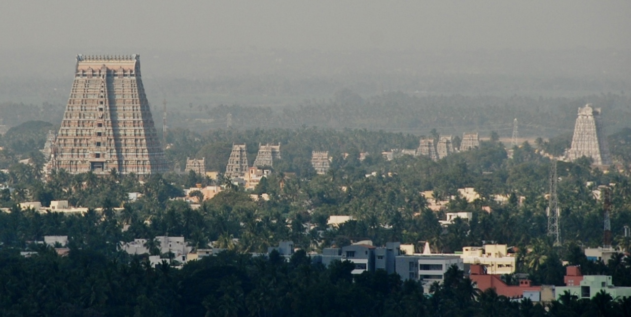 Tiruchi: The Ranganathaswamy Temple complex