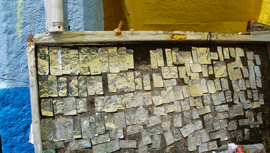 Votive plaques for the Dargah faithfuls