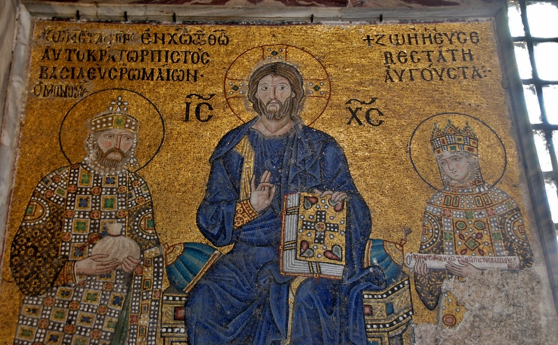The Empress Zoe mosaic