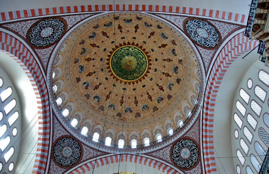 the main dome of the Suleymaniye camii