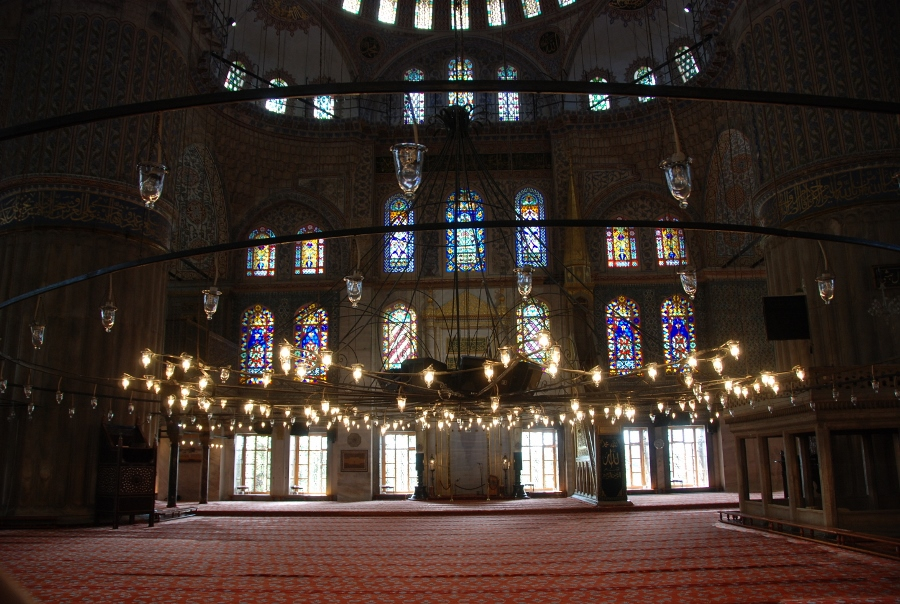 another detail of the Blue Mosque