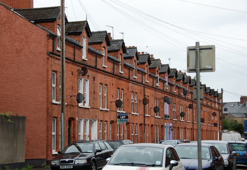 Belfast row houses