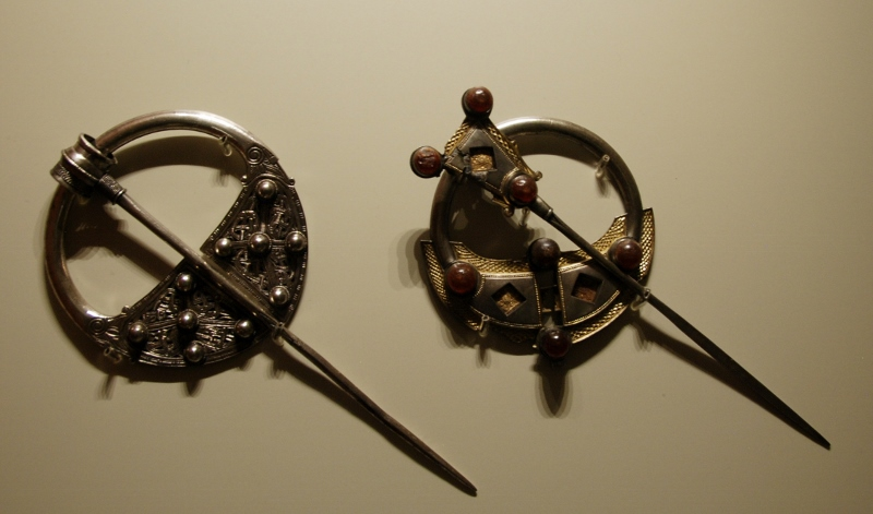 Celtic broaches (National Museum)