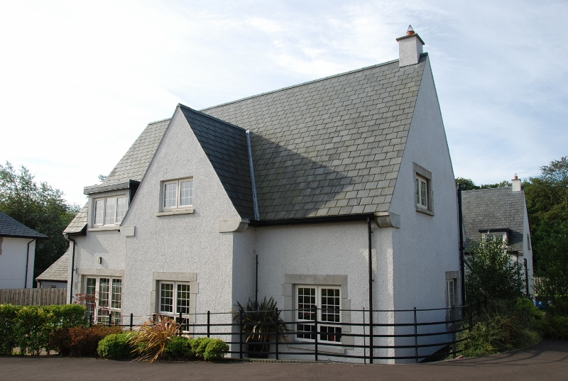 A Charles Voysey's style house outside Belfast