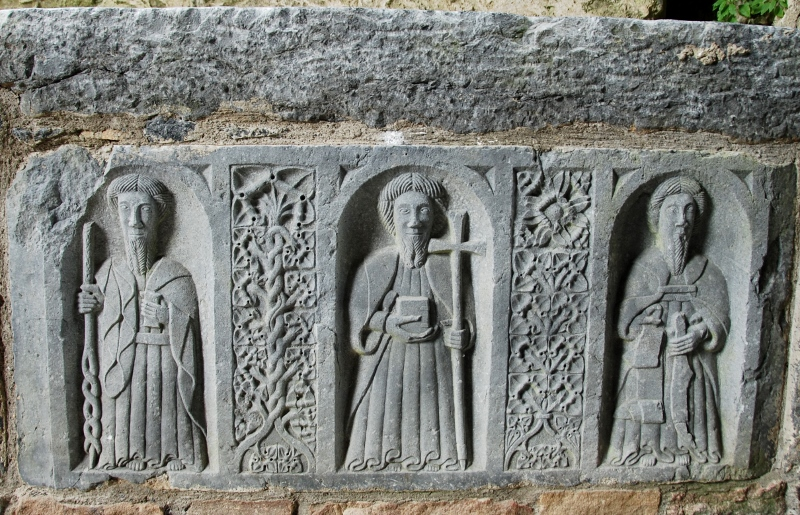 Jerpoint Abbey altar  detail