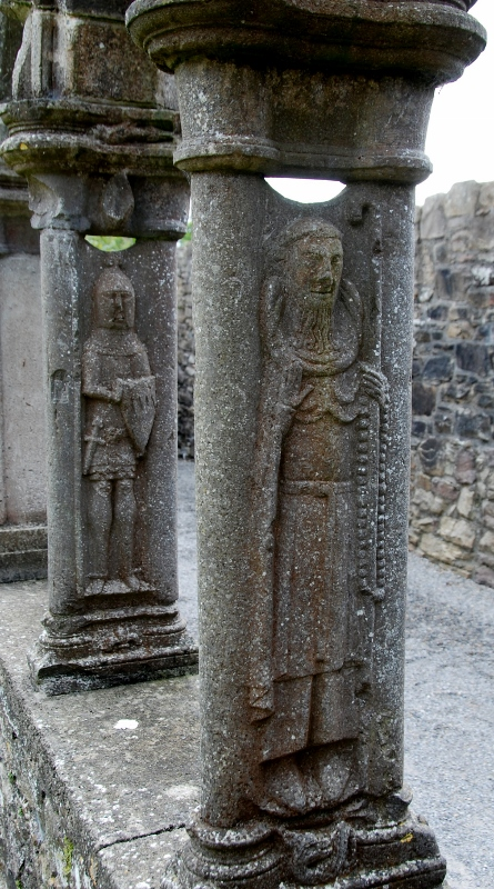 Jerpoint Abbey, detail from the cloister