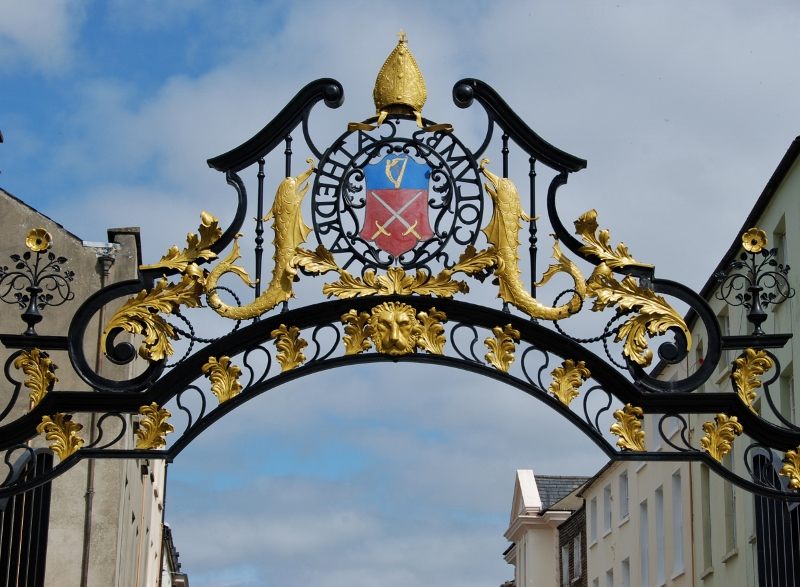 St Columb's Cathedral gate