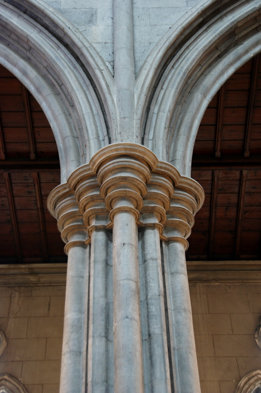 St. Mary's Cathedral, Kilkenny. Detail of a capitel
