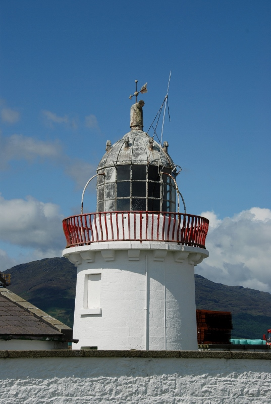 old lighthouse on the northern coast
