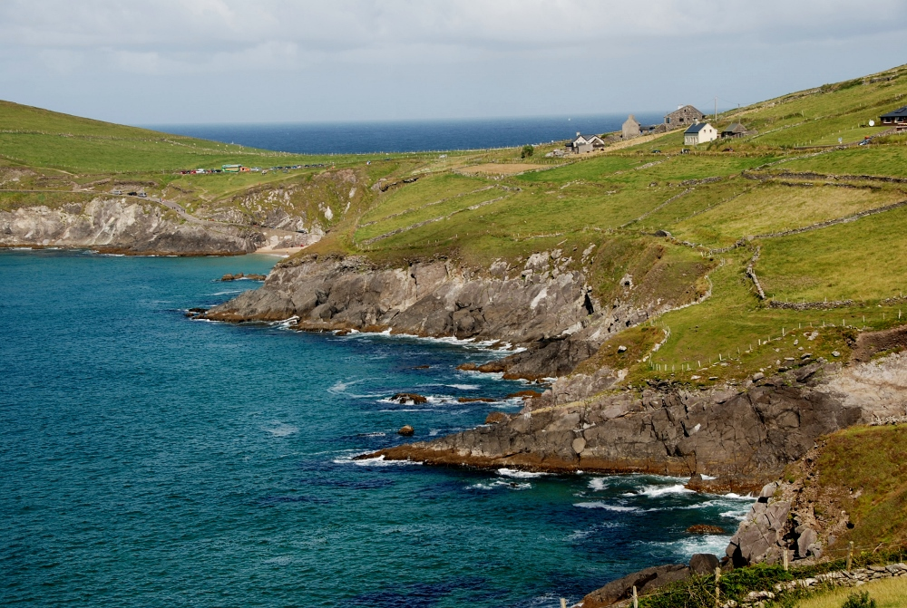 a spectacular coastline in the south