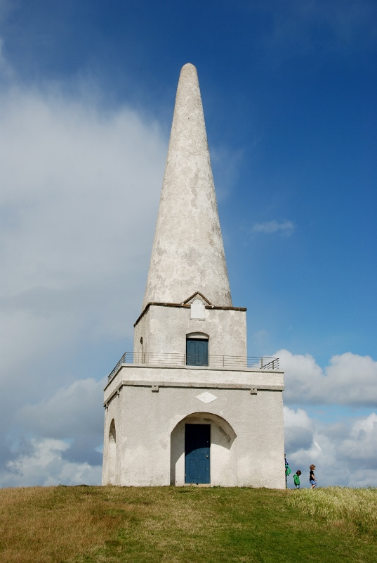 the Killiney obelisk, a Great Famine relief project
