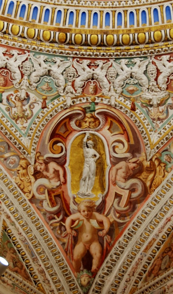Anteroom of the Angels, detail.