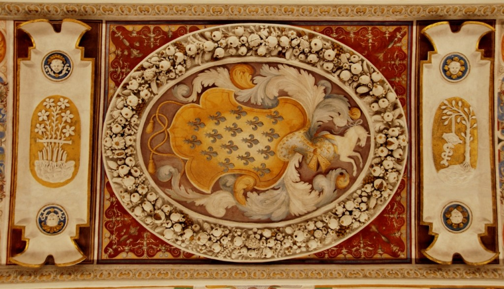 The Farnese Coat of Arms in the Room of Farnese Deeds