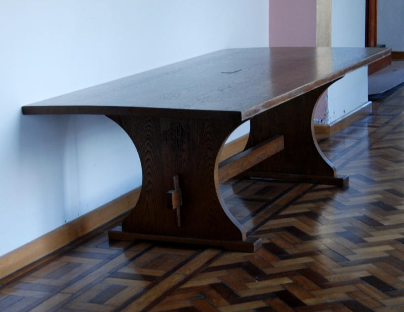 Maynooth University. Table designed by Pugin