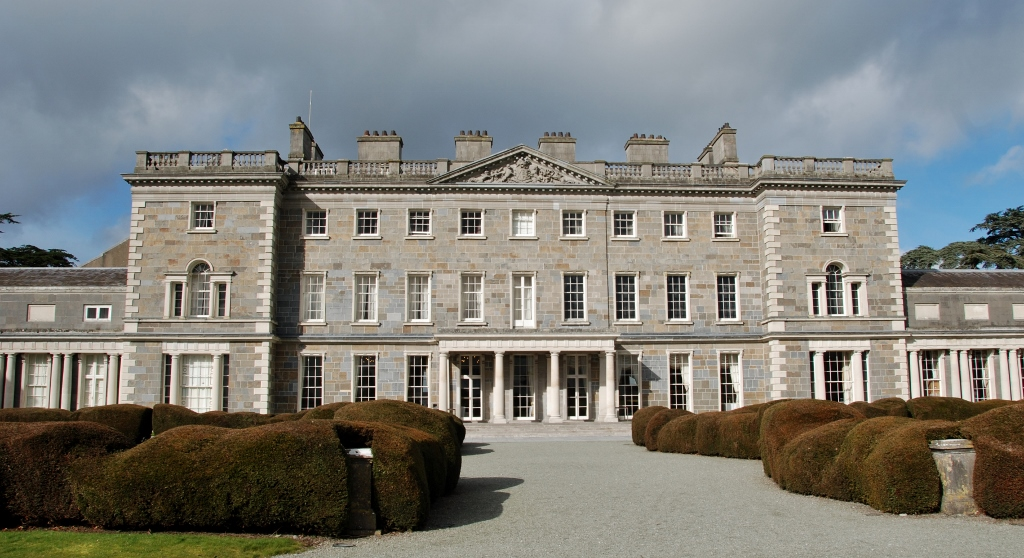 The Carton House,  Maynooth (1815 modifications by Richard Morrison of the 1747 Earl of Kildare residence)
