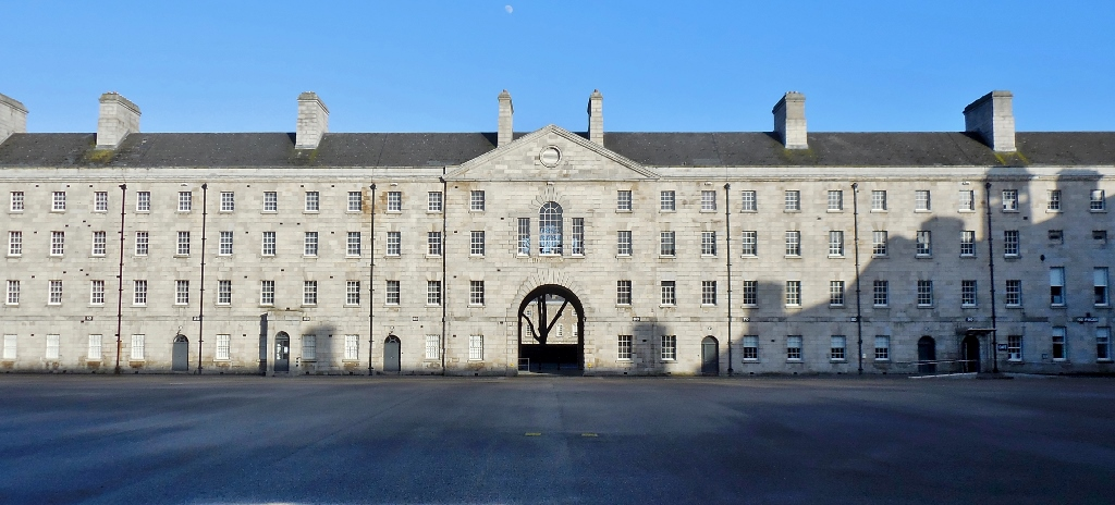 The Collins Barracks (Thomas de Burgh 1701) now National Museum of Decorative Arts and History